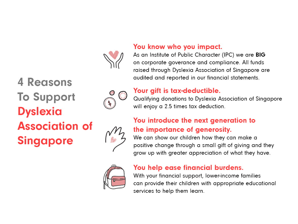 3. Reasons to donate