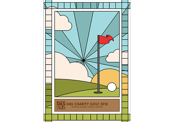 Golf stained glass artwork web low